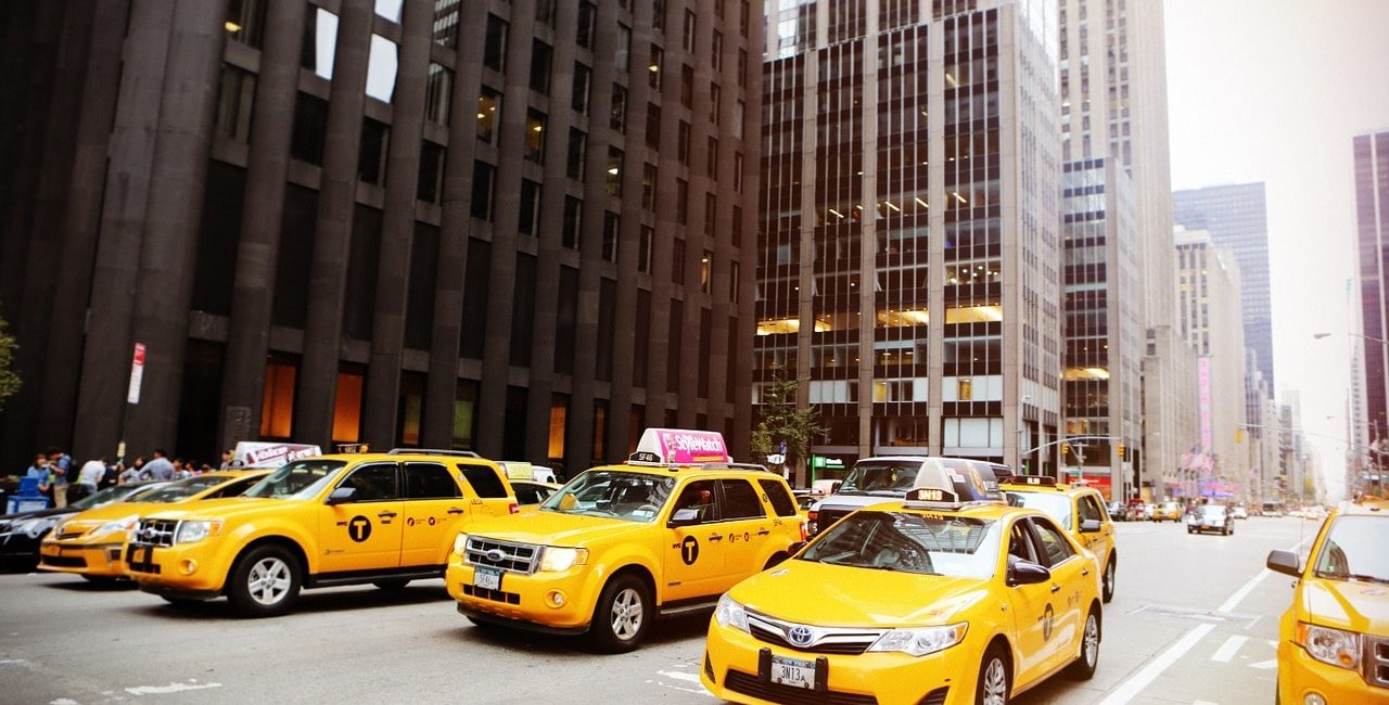 Taxi's in New York